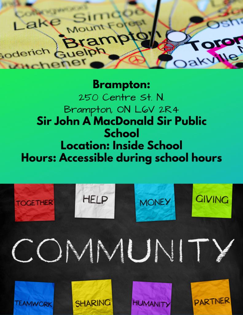 Brampton Community Fridge Free Food for All