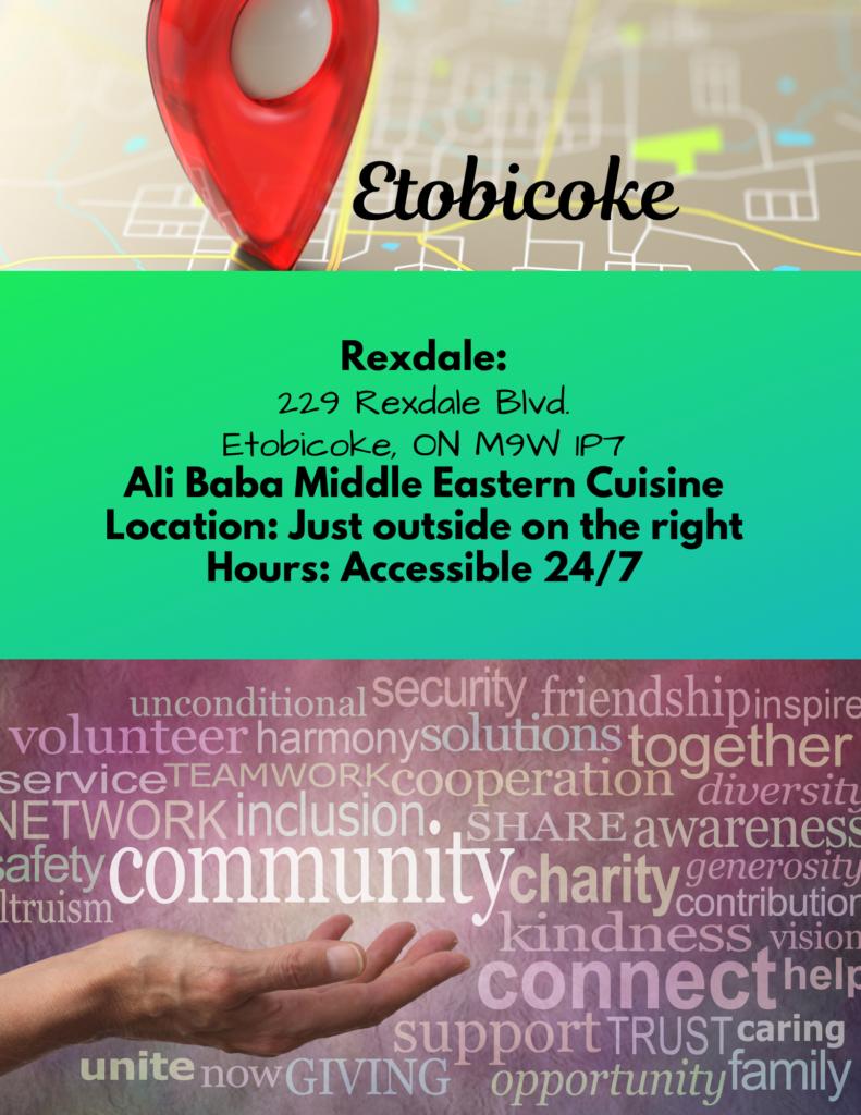 Rexdale Community Fridge Free Food for All