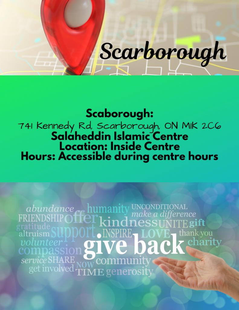 Scarborough Community Fridge Free Food For All Zero Waste